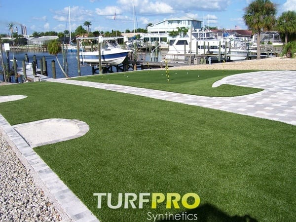 Artificial Turf Grass Installed by Turf Pro Synthetics in St. Petersburg, FL