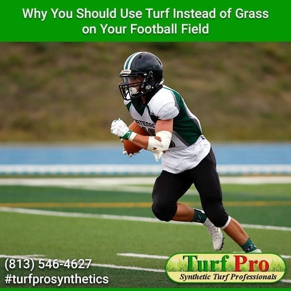 <p>When artificial turf was first introduced to athletes, they dreaded playing football on it. This is because the turf was simply a plastic carpet that was made to look like grass. Due to its poor design players received serious turf burns on any area of their body that was exposed […]</p>