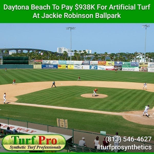 <p>The Daytona Tortugas will be playing their next season (starting March 1, 2020) at the Jackie Robinson Ballpark on new, state-of-the-art artificial turf that cost roughly $1 million. This was signed off on at the Daytona Beach city commissioners' meeting. The decision was left to them since the city owns […]</p>