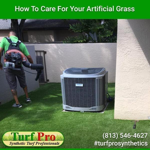 <p>When you install artificial grass, you save a lot of money because you won't need to reseed, water, or mow it. However, the upfront investment isn't cheap and you will need to take some steps to care for your artificial turf. Owning the Right Equipment You'll still need some equipment […]</p>