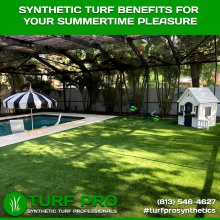 Synthetic Turf Benefits For Your Summertime Pleasure